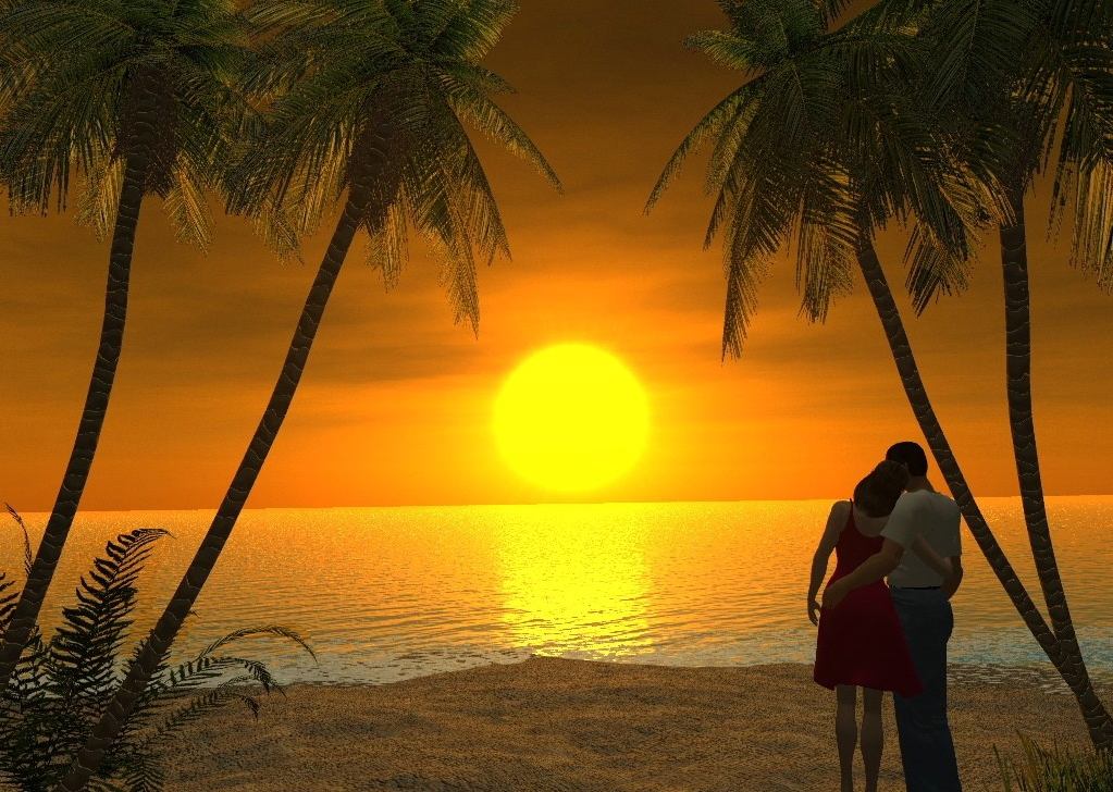 Pics photos heart black wallpaper romantic love pictures - 25 Beach Scene Wallpapers Picshunger