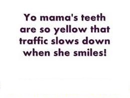 funny yo mama jokes