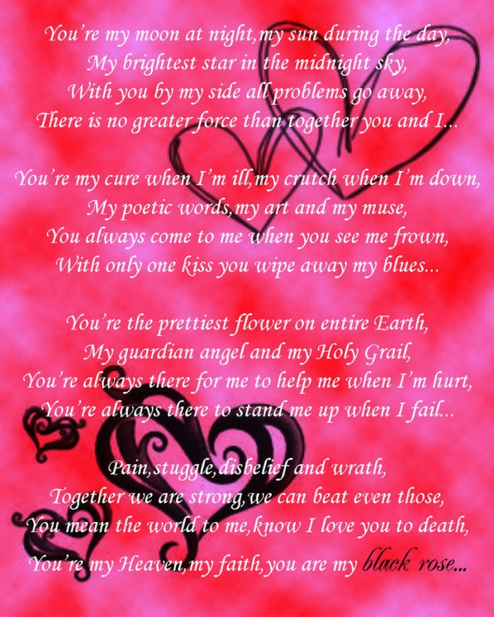 25+ Passionate Love Poems for Him   PicsHunger   Page 26