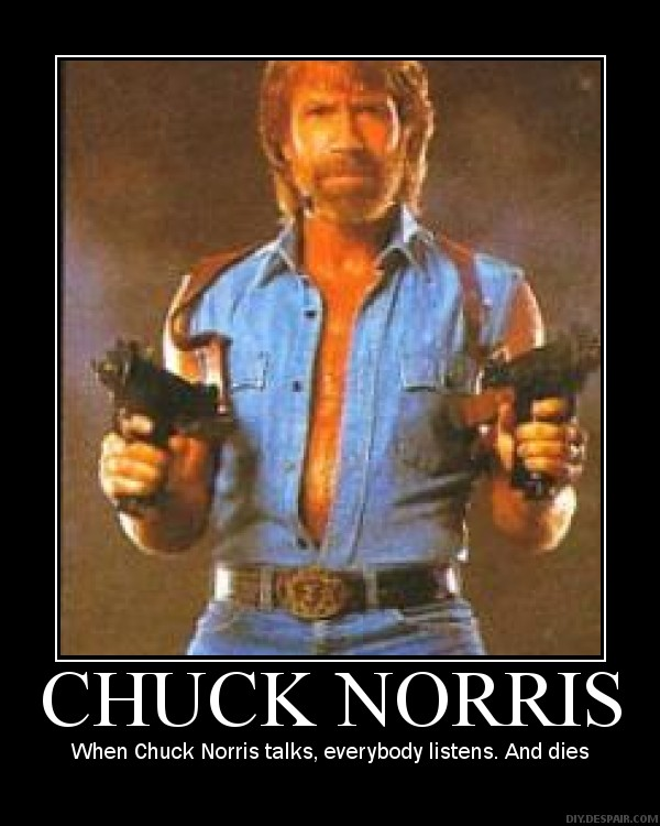 25 Happy Chuck Norris Jokes PicsHunger