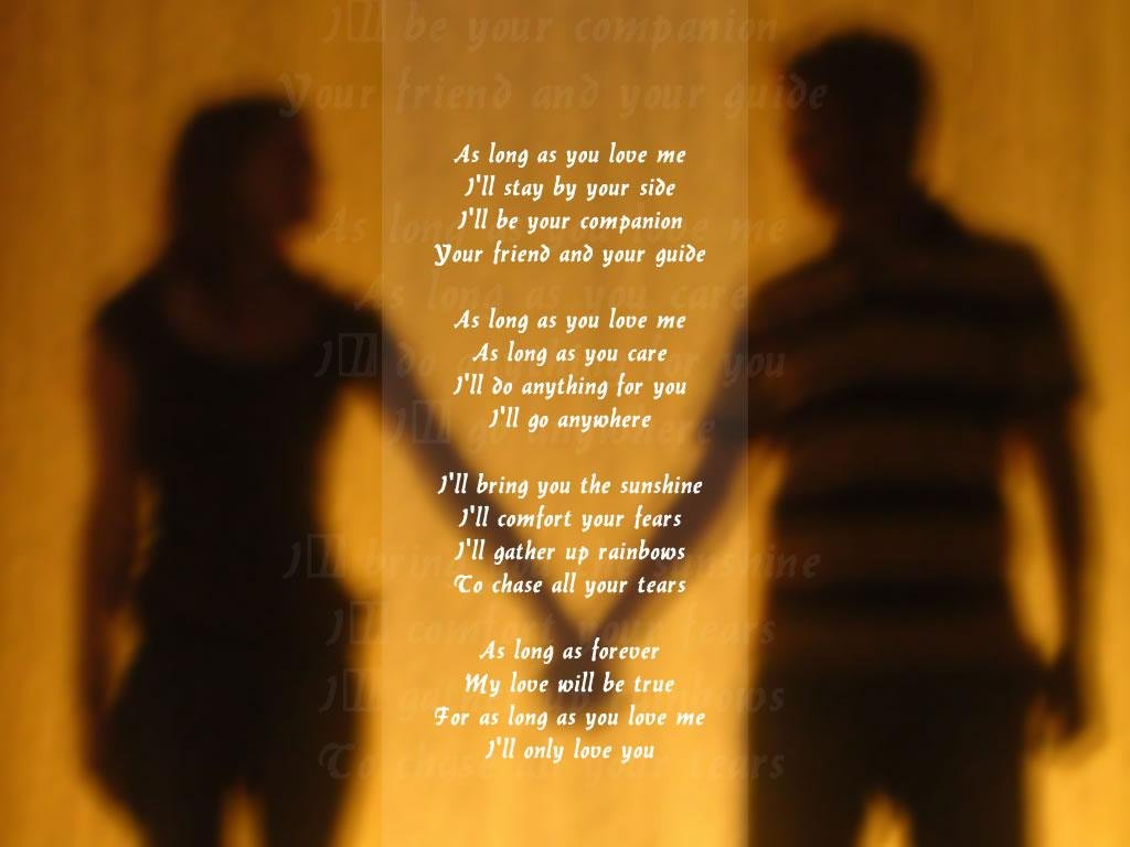 relationship poems for him from her