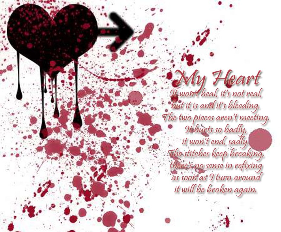 Love Sad Blood Wallpaper : 25+ Doting Love Poems PicsHunger