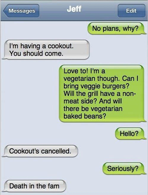 Text Message Funny Joke
