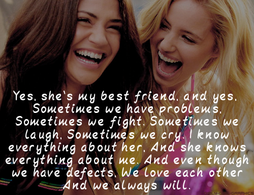 Quotes About Best Friends Girl. QuotesGram