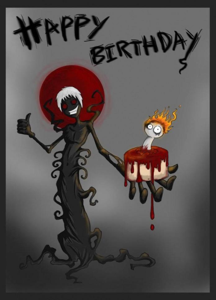Злое с днем рождения