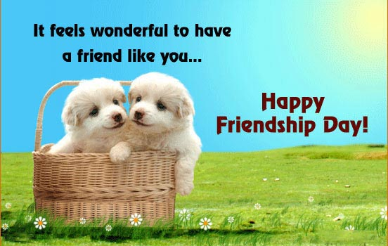 Nice. about friendship day