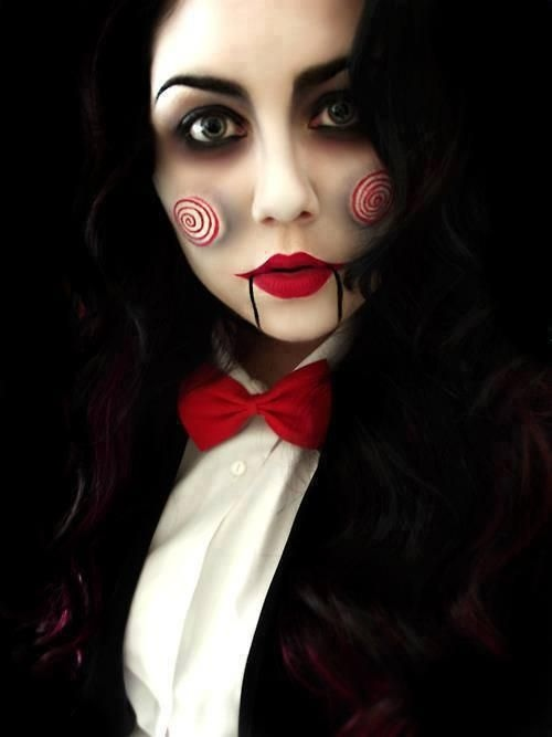 25 Artistic Halloween Makeup Ideas | PicsHunger