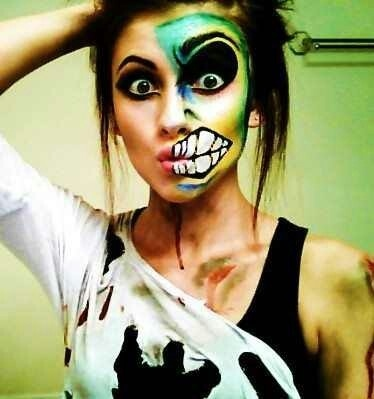 25 Artistic Halloween Makeup Ideas PicsHunger - Top Halloween Makeup Ideas