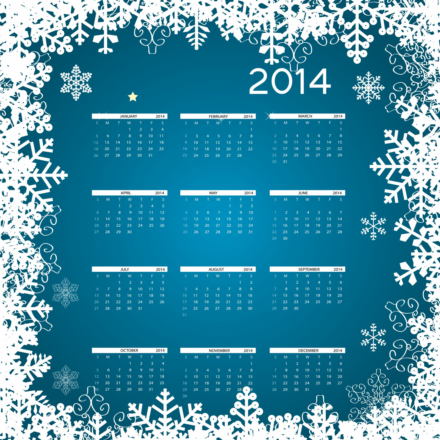 "Christmas Calendar 2014 : Search results for ""pic of dec calendar page"