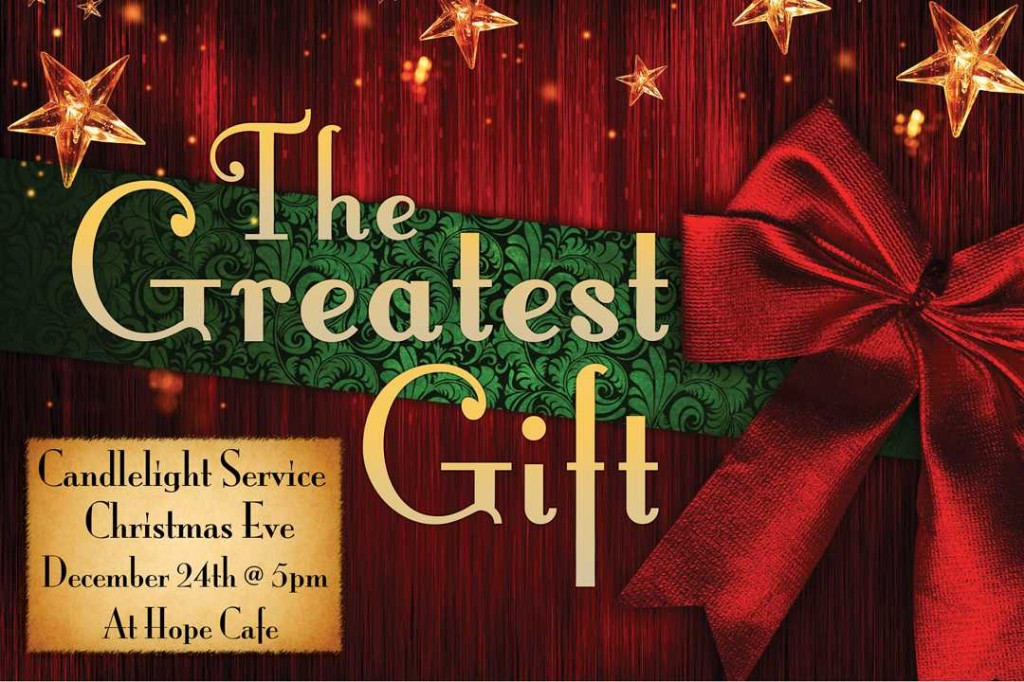 Gift ideas for christmas eve service