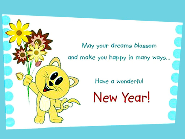 25 Happy New Year Greetings 2015 | PicsHunger