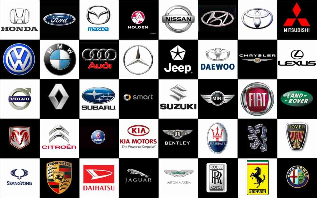 25 Famous Car Logos Collection Picshunger