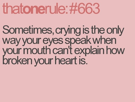 quotes on crying