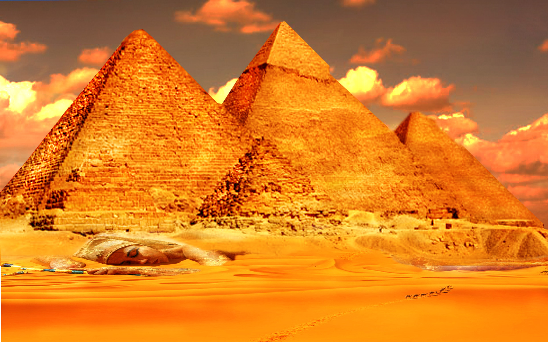 Pyramid wallpaper to inspire you picshunger for 3d wallpaper for home egypt