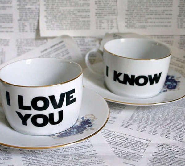 romantic cups